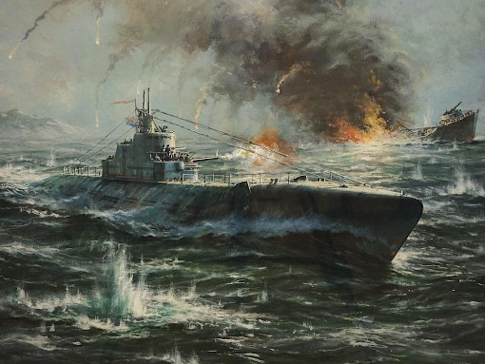 фильм войну с подводными лодками