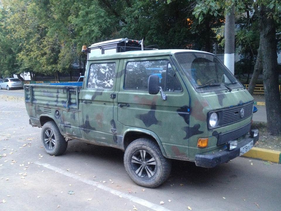 военный фольксваген транспортер т3