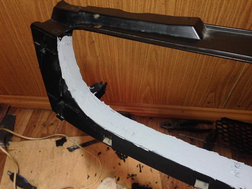 Снять решетку радиатора лачетти хэтчбек