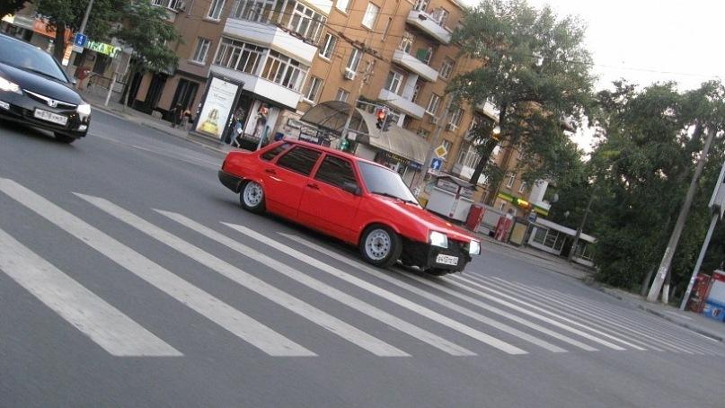 Ваз 21099 красная