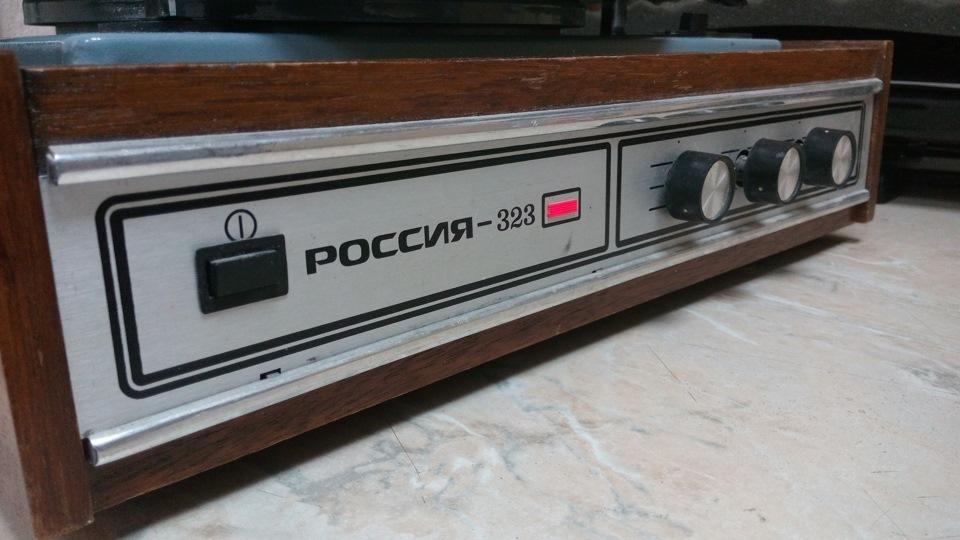 """пластинок """"Россия-323"""""""