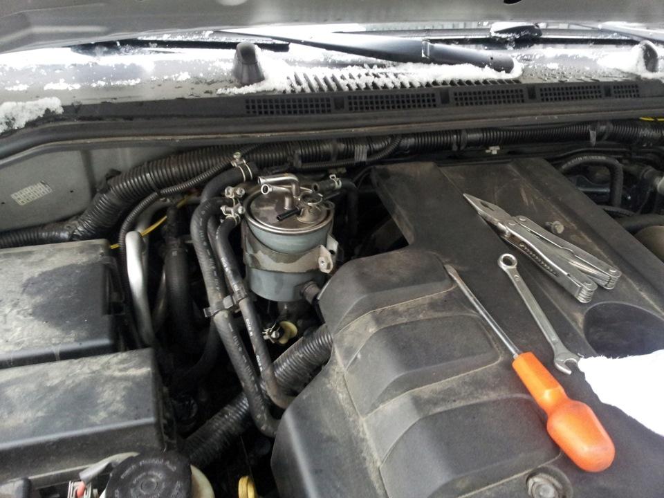 Замена топливного фильтра - бортжурнал Nissan Pathfinder 2008 года на DRIVE2