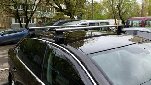рейлинги для установки на крышу