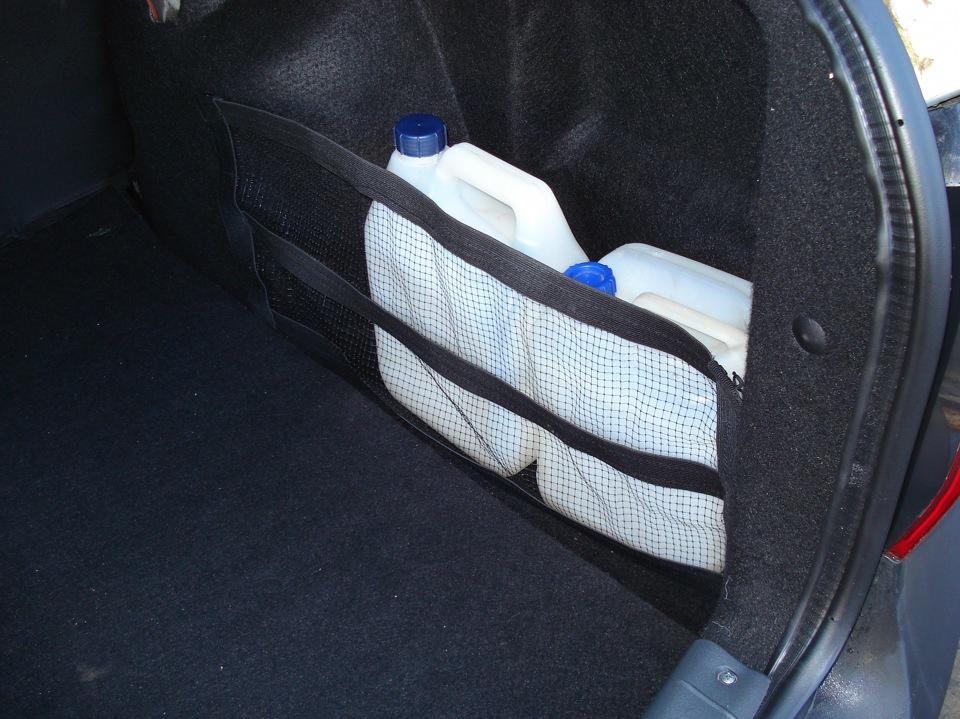 Сетка на багажник своими руками 101