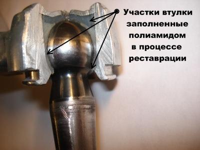 Как отремонтировать шаровые своими руками