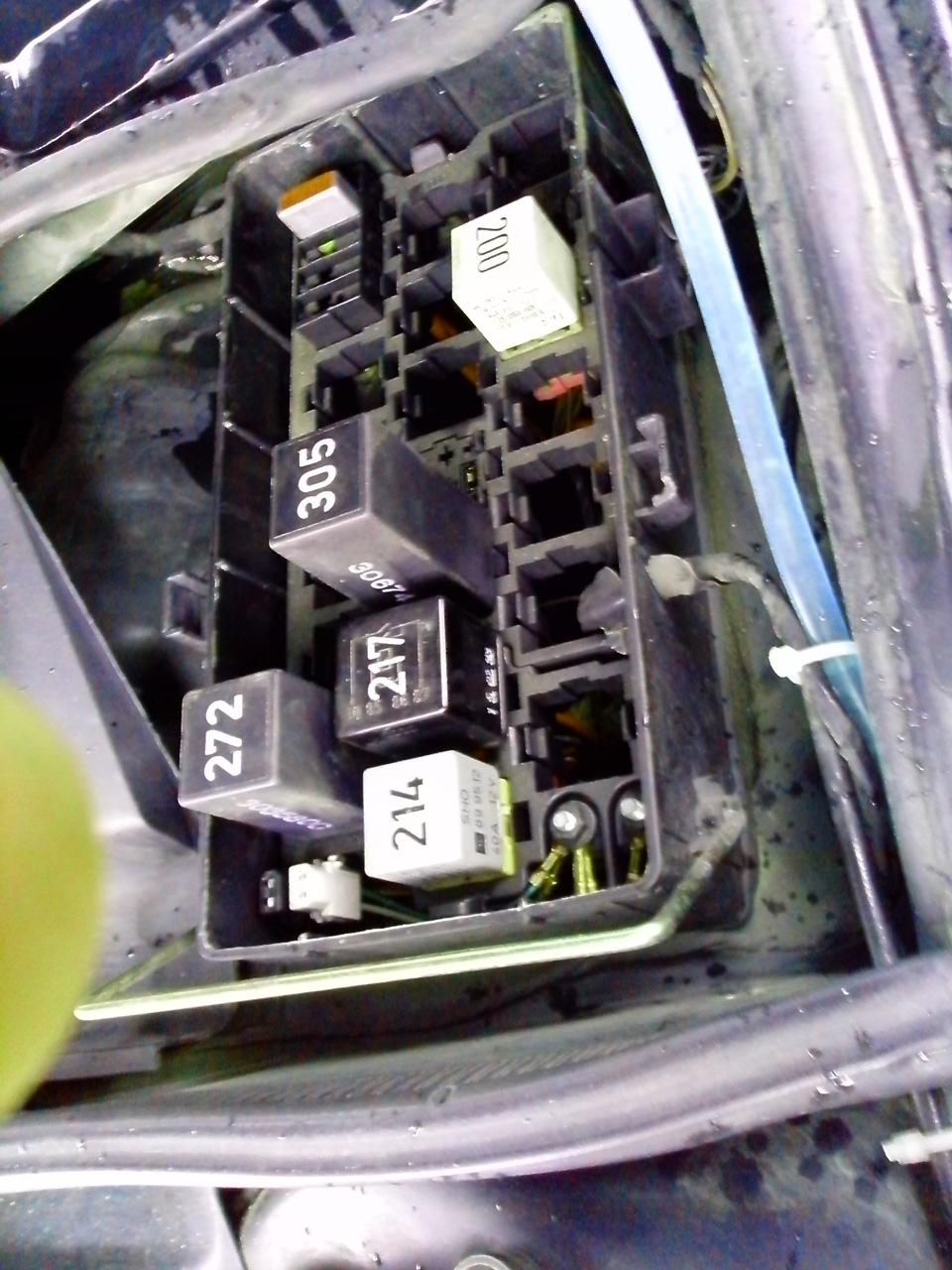 нет циркуляции через радиатор после замены ож ауди а6с4 2.6