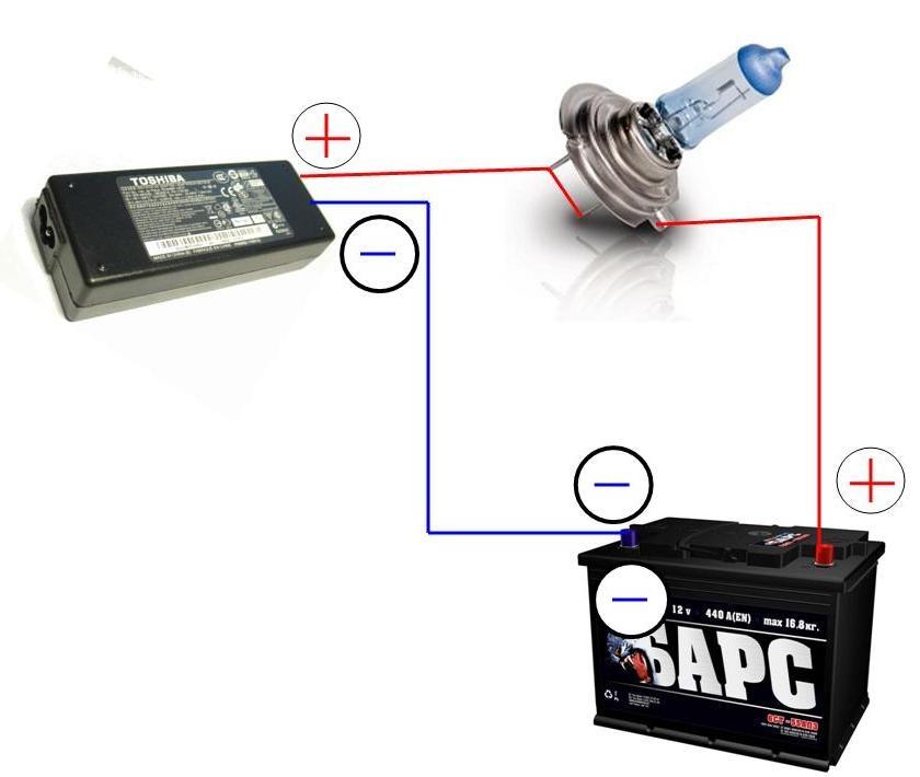 Как зарядить батарею ноутбука без зарядки в домашних условиях