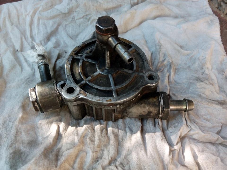Опель фронтера вакуумный насос ремонт