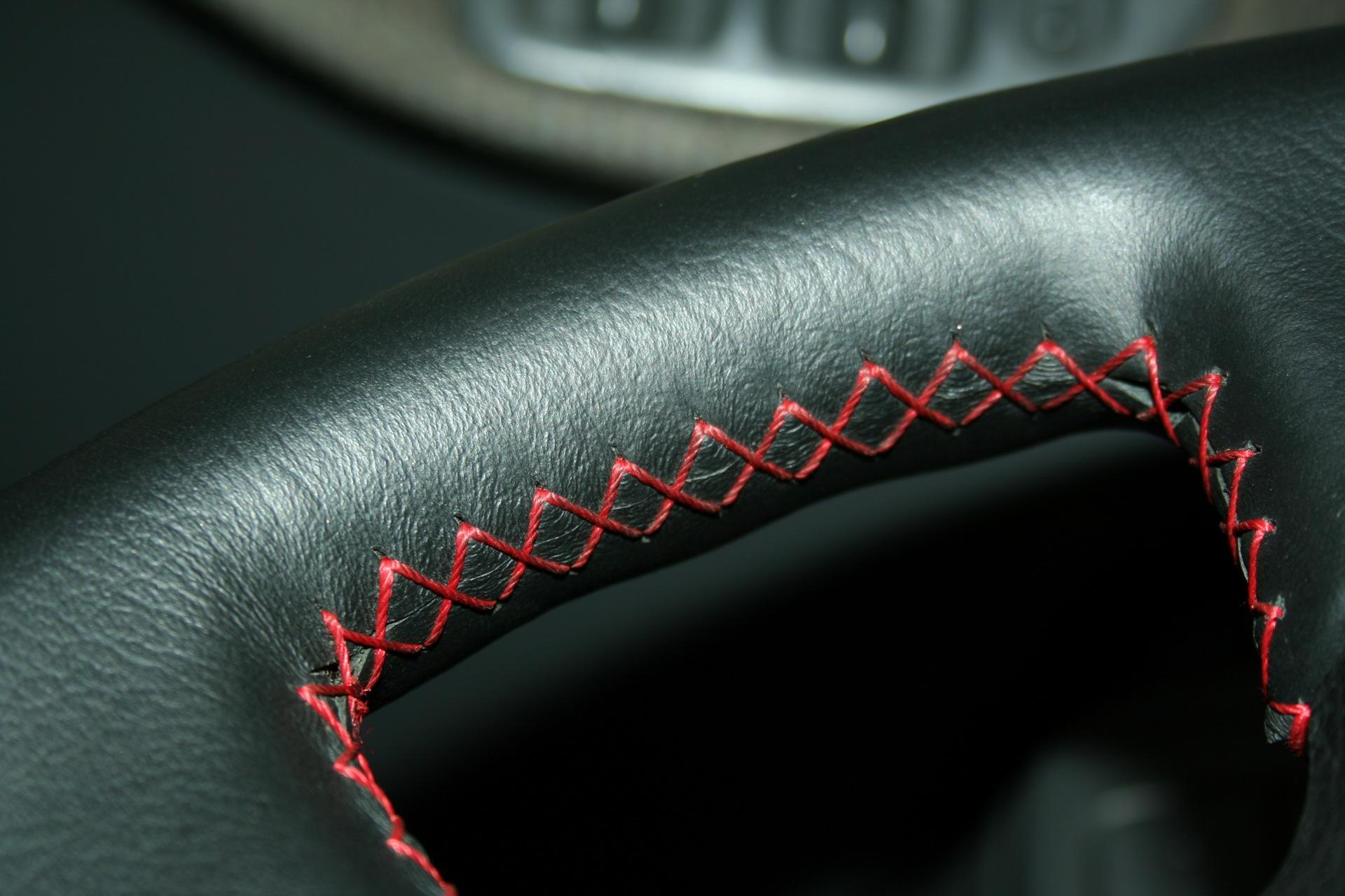 Как обтянуть руль кожей