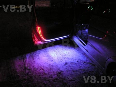 Светодиодная подсветка своими руками в автомобиле