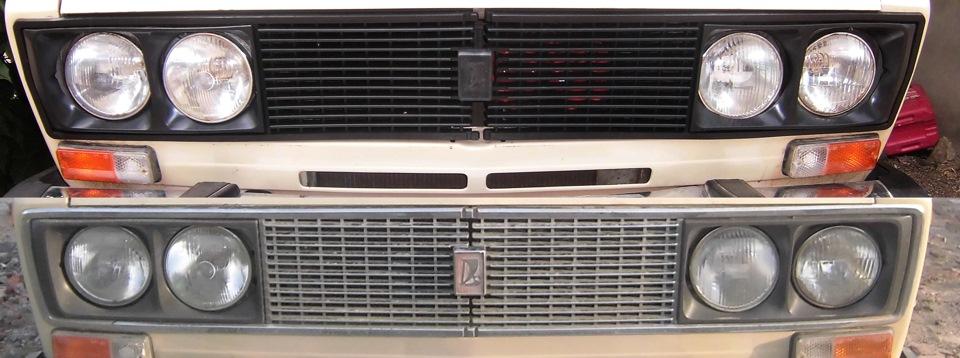 Решетка радиатора своими руками для ваз 2106