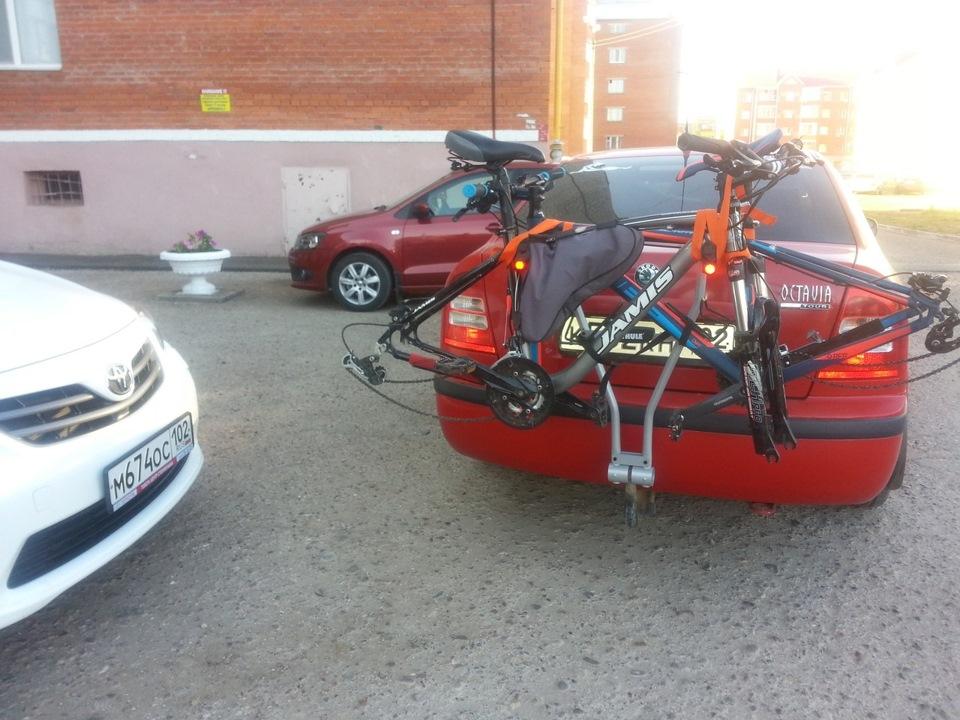 Крепление для велосипеда на фаркоп Thule Xpress 970 - фото 6
