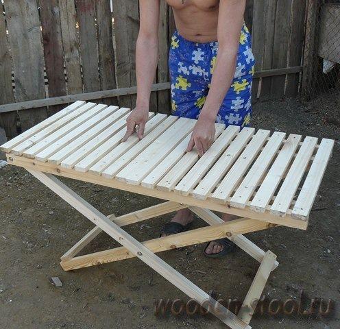 Столы своими руками для торговли