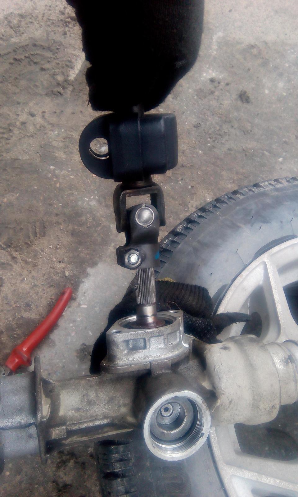 Как отремонтировать рулевую рейку на приоре