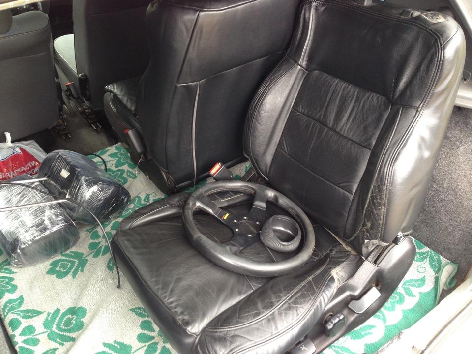 Перетяжка сидений drive2