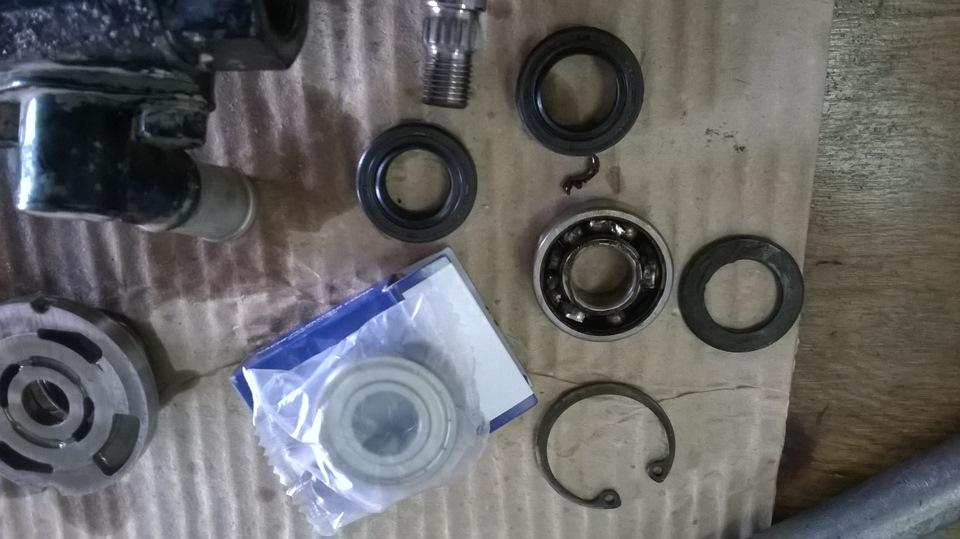 ремонт рейки гидроусилителя на mazda 2