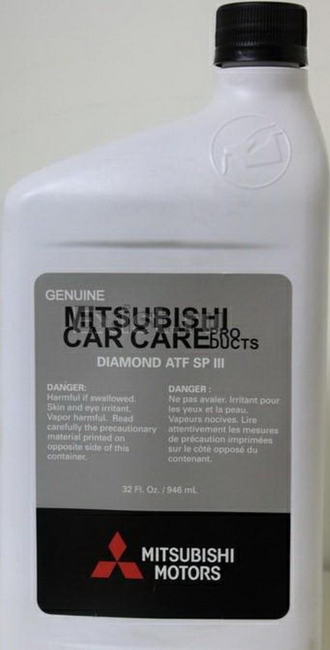масло mitsubishi atf sp iii