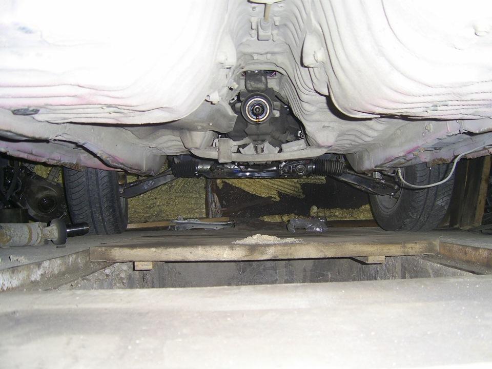 Фото на кузове задней подвески тойота креста