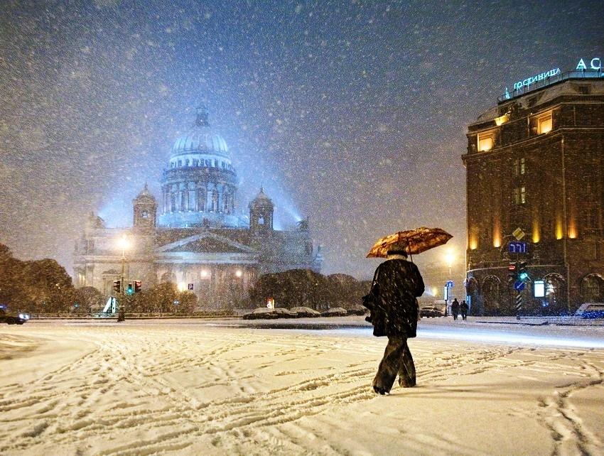 Картинки по запросу доброе утро снег питер