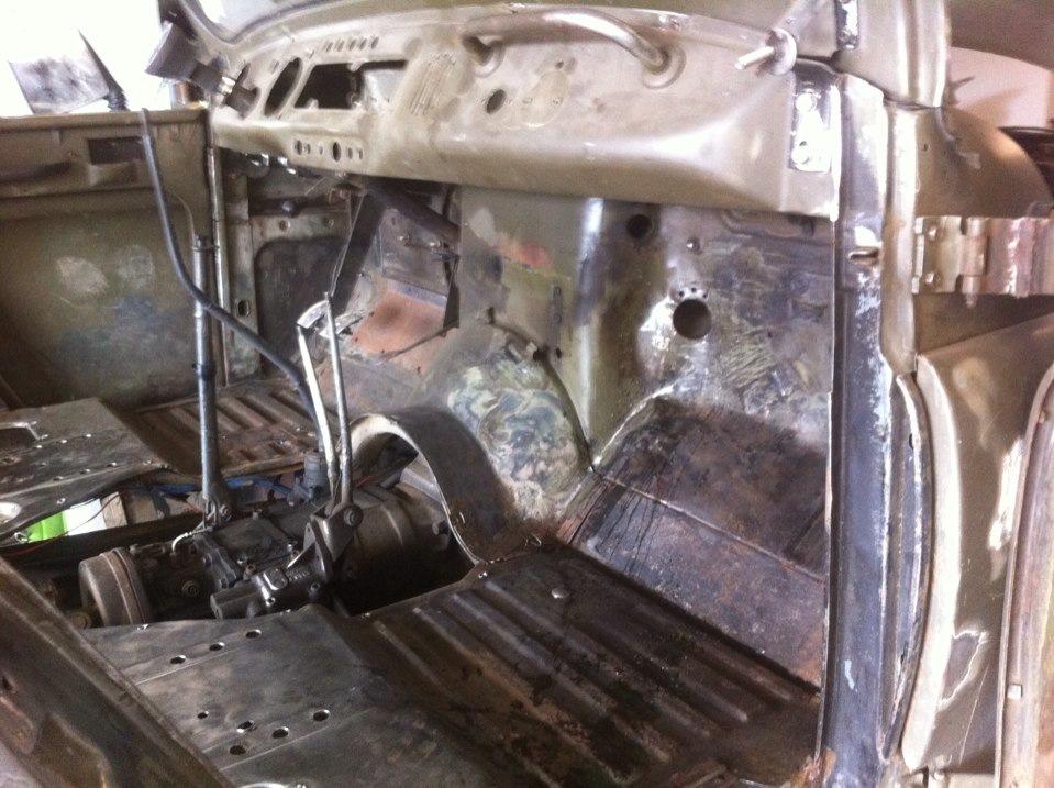 Кузовной ремонт уаз 469 2