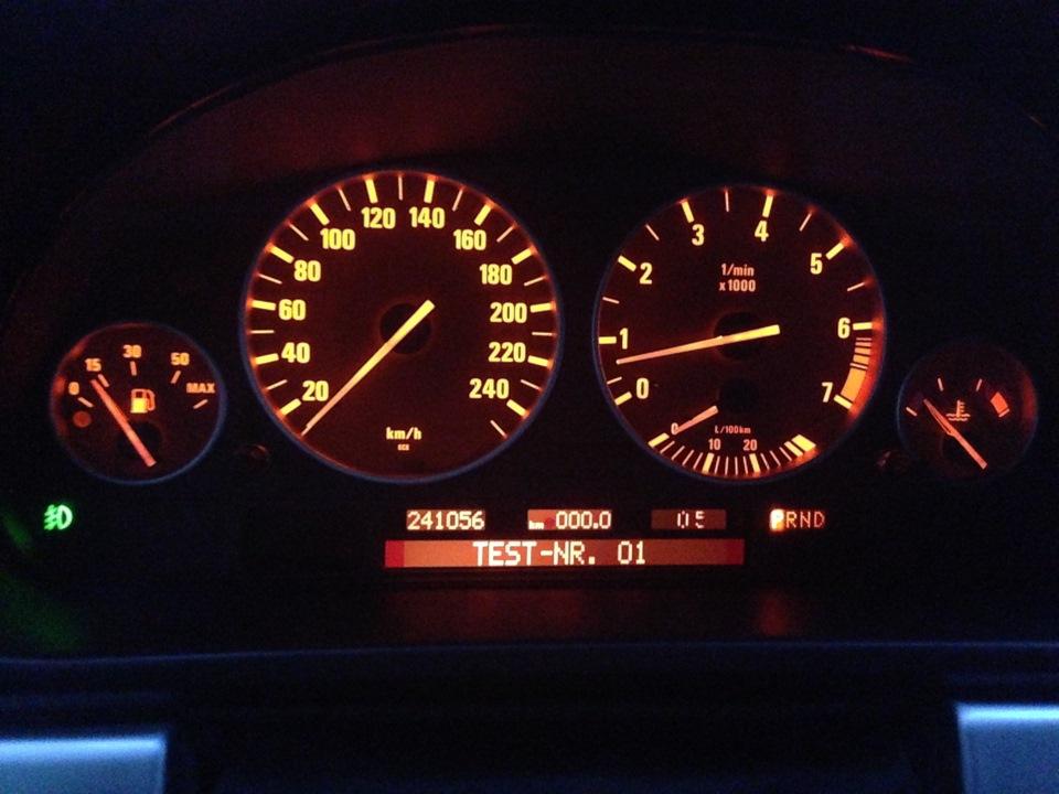 как снять стрелки панели приборов BMW e39
