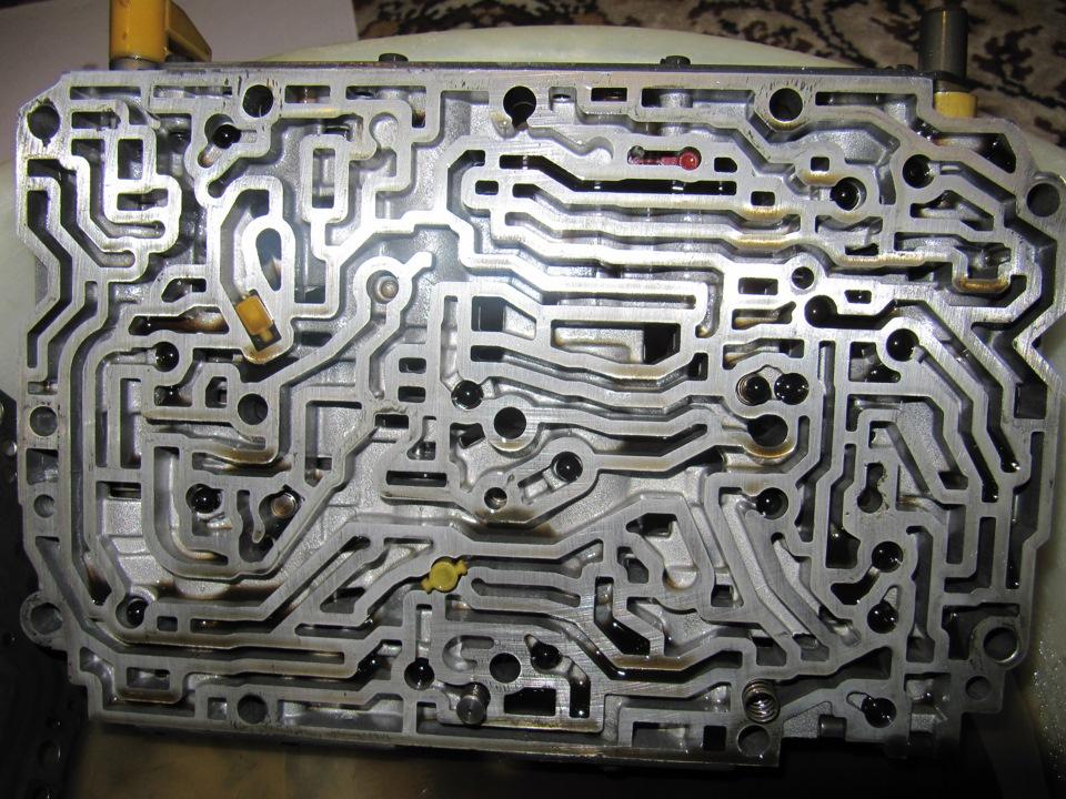 Гидроблок 722.4 схема