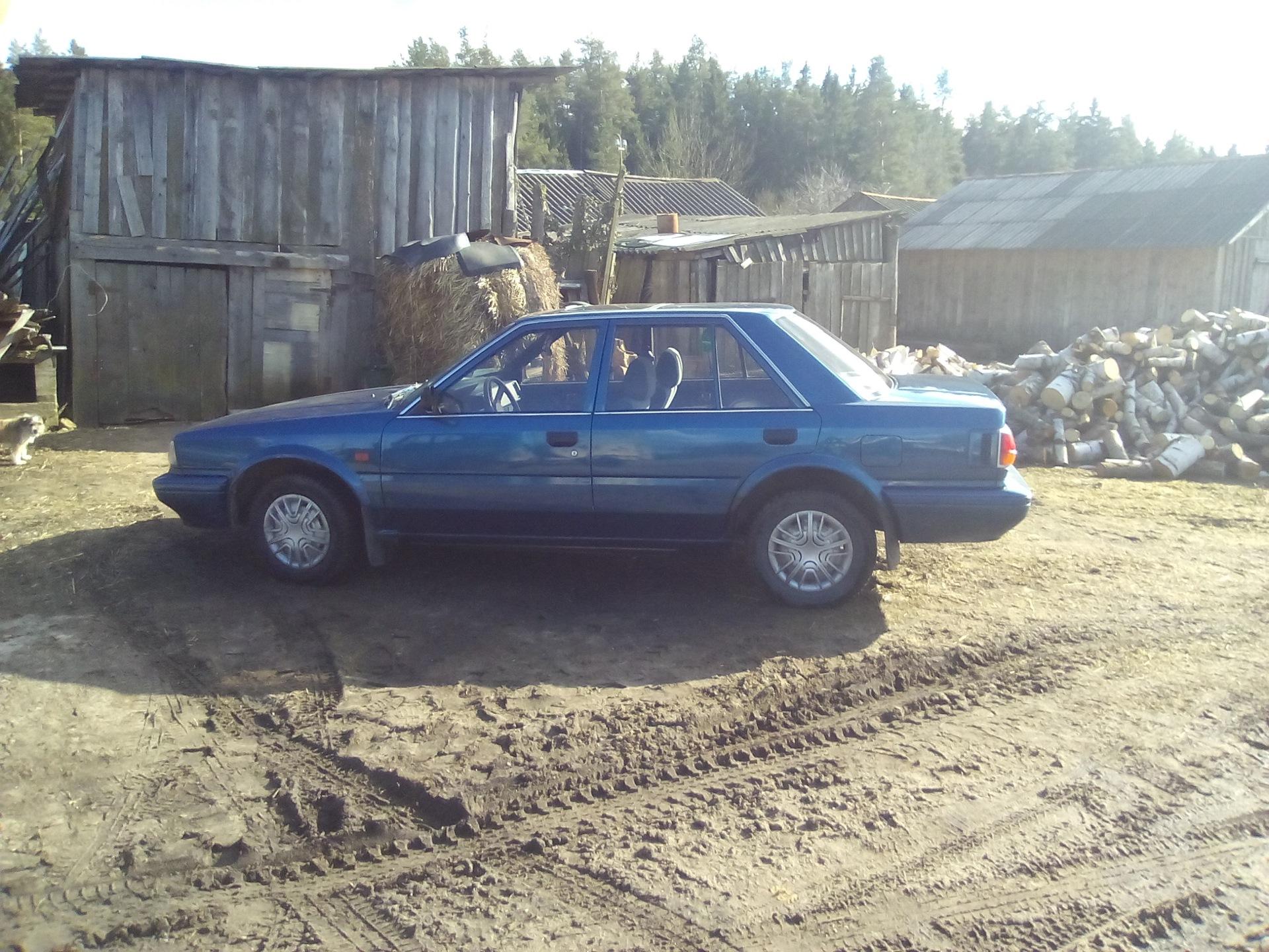 задні амортизатори до nissan bluebird 2.0 1989