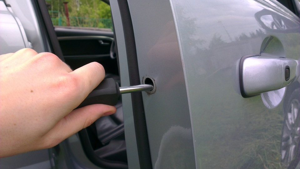 Outer Door Handle Sticking