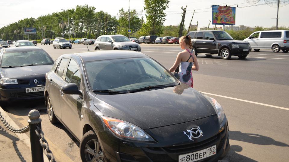 Mazda 3 и секс