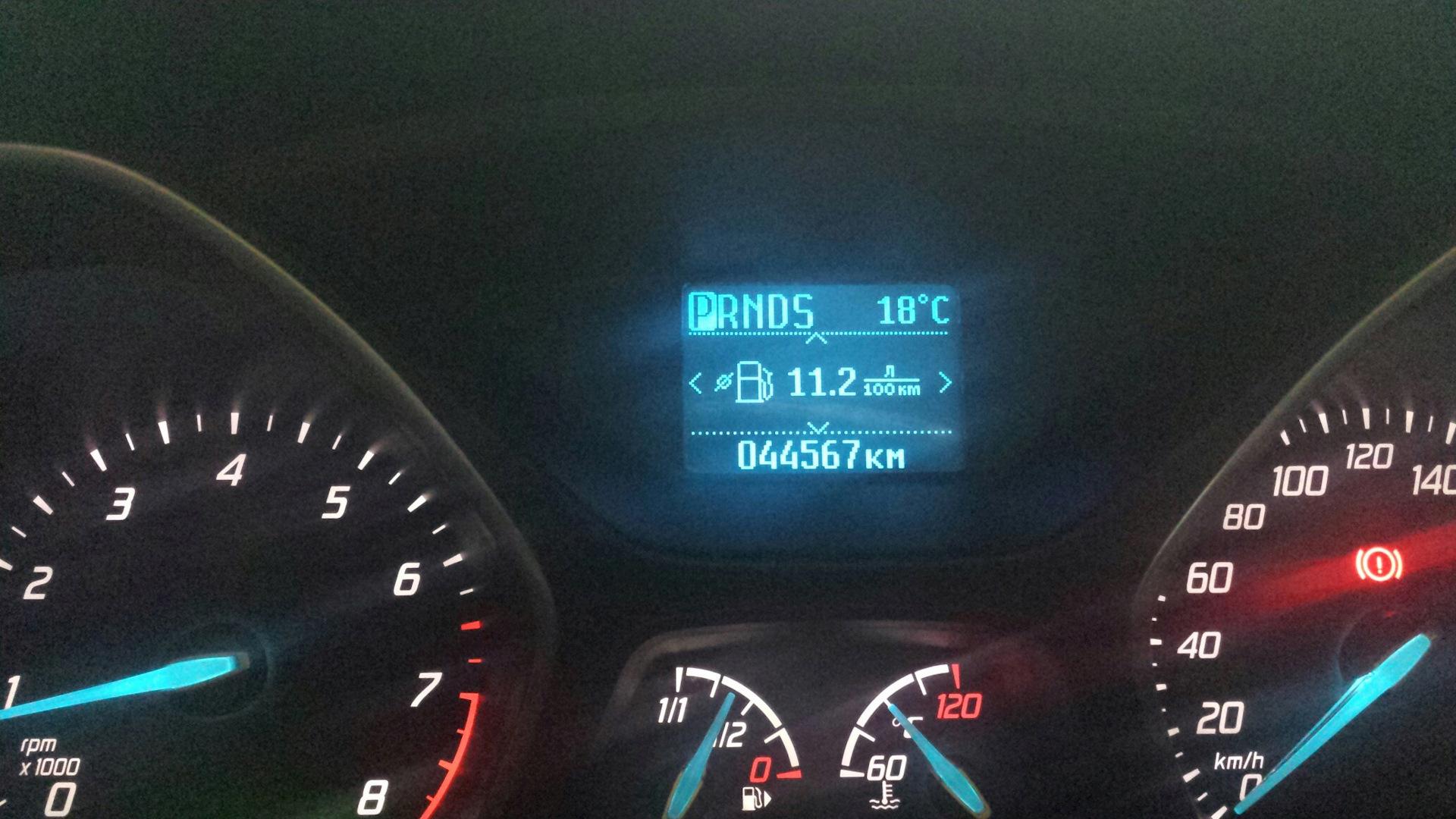 ford focus 3 повышенный расход топлива
