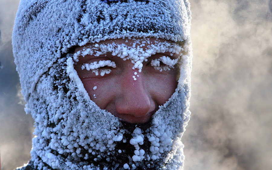 фото замерзших людей неисправности