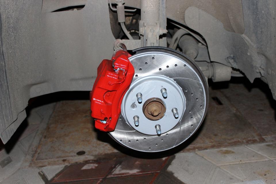 Защита тормозных дисков своими руками 10