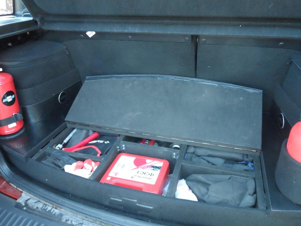 Органайзер в багажник шеви нива