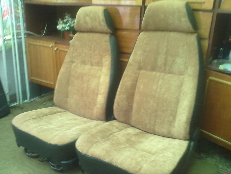 Перетяжка сидений - бортжурнал ГАЗ 24 белый универсал DRIVE2