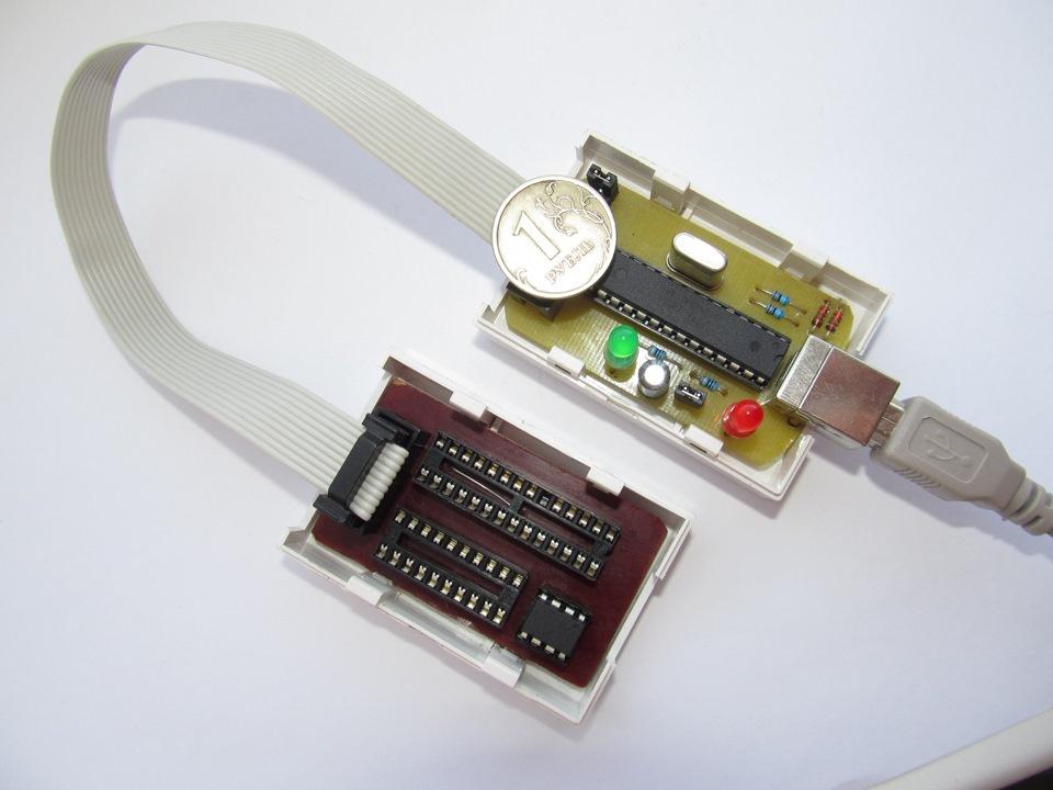 При подключении USB будет