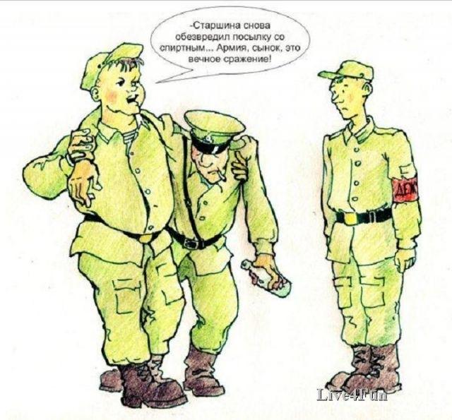 Картинка с армии прикольная, днем рождения