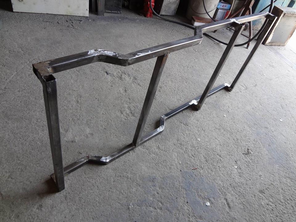 Подкатная тележка для ремонта автомобиля своими руками 46