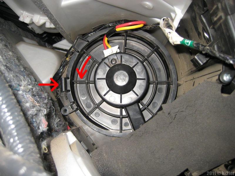 Замена моторчика печки на ниссан х трейл