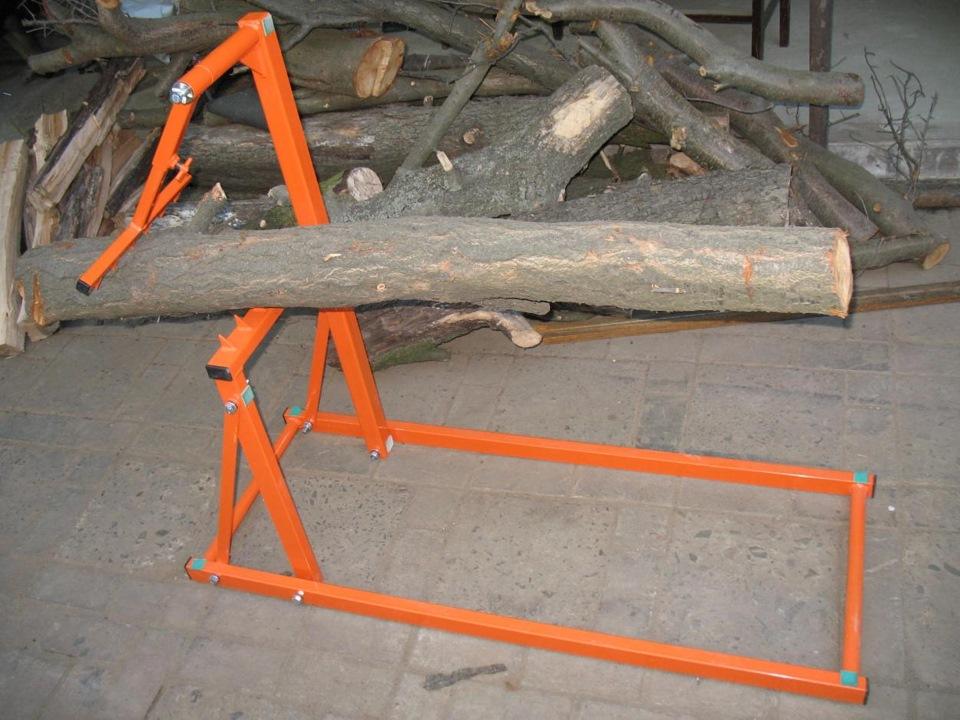 Козлы для распилки дров складные своими руками