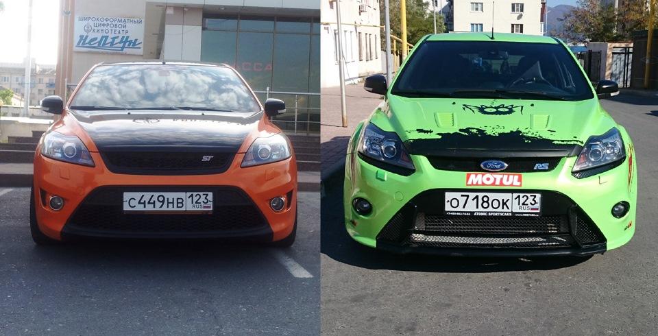 ford st rs в чем разница