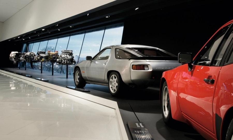 Наши дни. Музей Porsche.