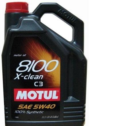 Моторное масло MOTUL 8100 X-Clean 5w-40 4 л - фото 6