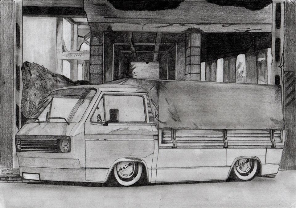 Рисунок транспортера как снять бампер на транспортер т5