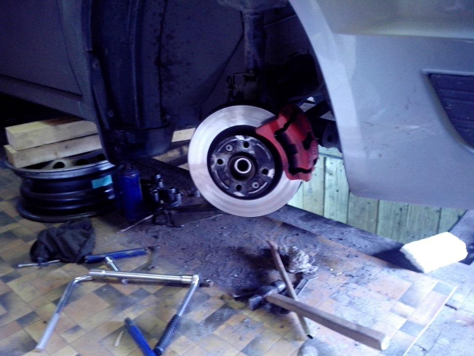 Ремонт ходовой (часть 1) - бортжурнал Renault Logan DRIVE2