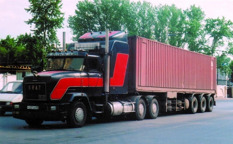 грузовой вольво кулибины