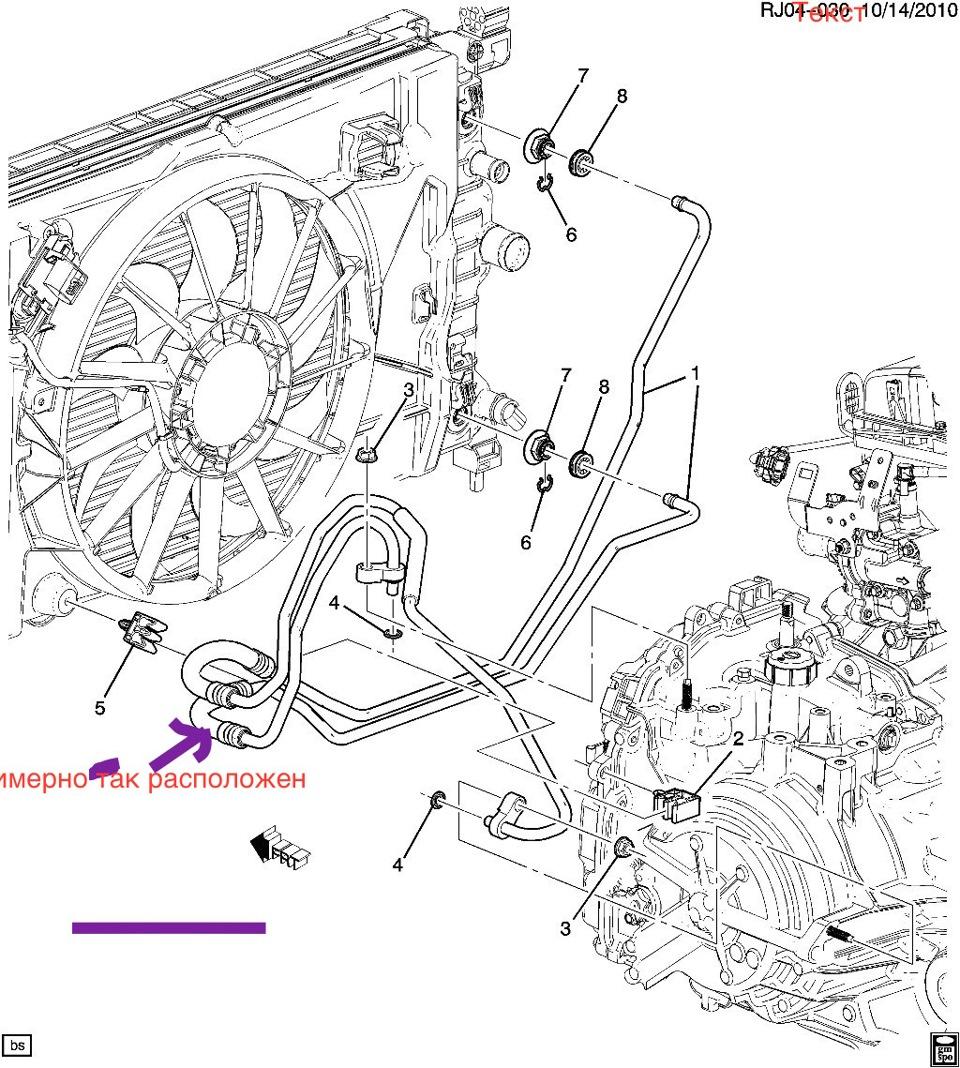 система охлаждения chevrolet aveo t300