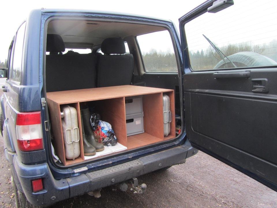 Спальник для авто своими руками