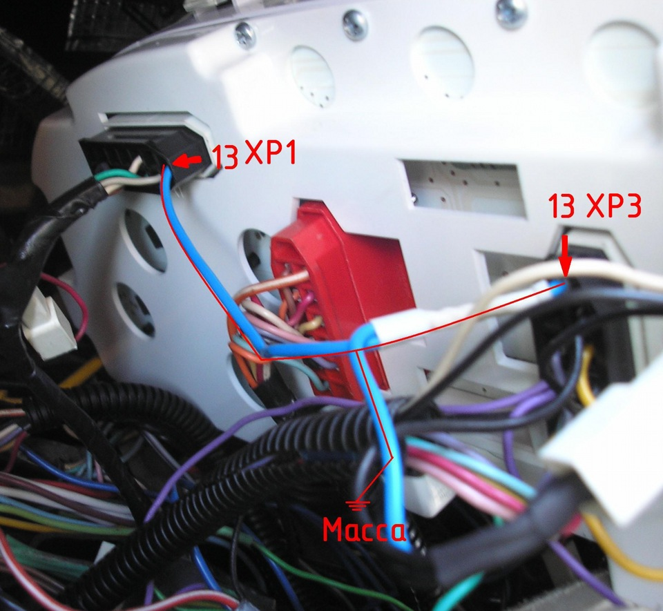 схема подключения тахометра соболь 406