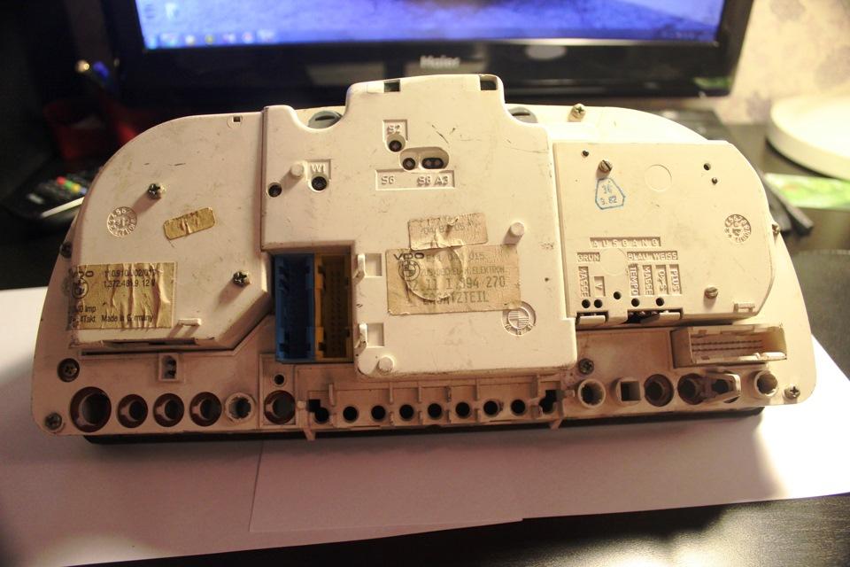 ремонт приборной панели BMW e28