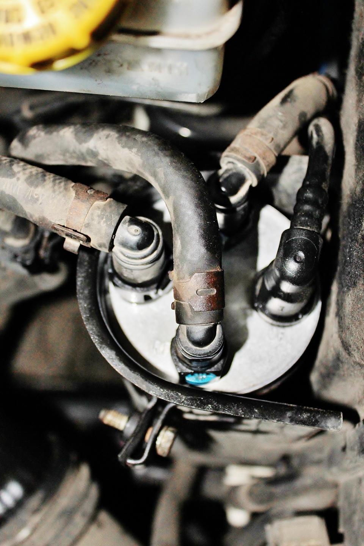 фольксваген транспортер замена топливного фильтра дизель